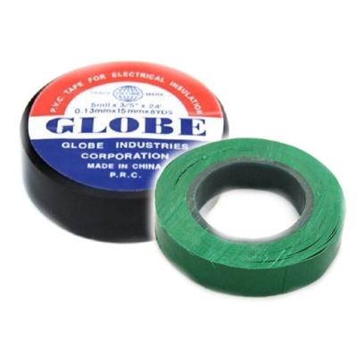 Изолента PVC Globe 15мм, зеленая