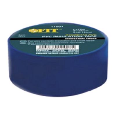 Изолента ПВХ 15мм, синяя Fit