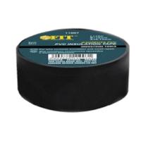 Изолента ПВХ 15мм, черная Fit