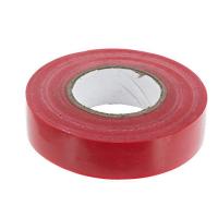 Изолента ПВХ красная 0,13х15мм 20м