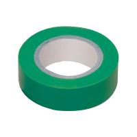 Изолента ПВХ зеленая 0,13х15мм 20м
