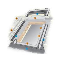 Комплект: Оклад Velux EDW2000 С04 (55x98) + ГТИ BDX2000