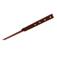 Кронштейн под конек для лестницы (коричневый)