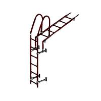 Лестница кровельная стеновая 1860 мм (без кронштейнов)