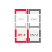Оклад KSV-1-P (78х140) часть комбиниров. для волнистых покрытий