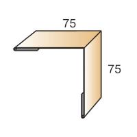 Планка угла наружного 75х75х3000