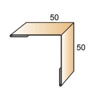 Планка угла наружного 50х50х3000