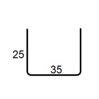 Профиль армирующий К-58 35 25 25 1,35 6М